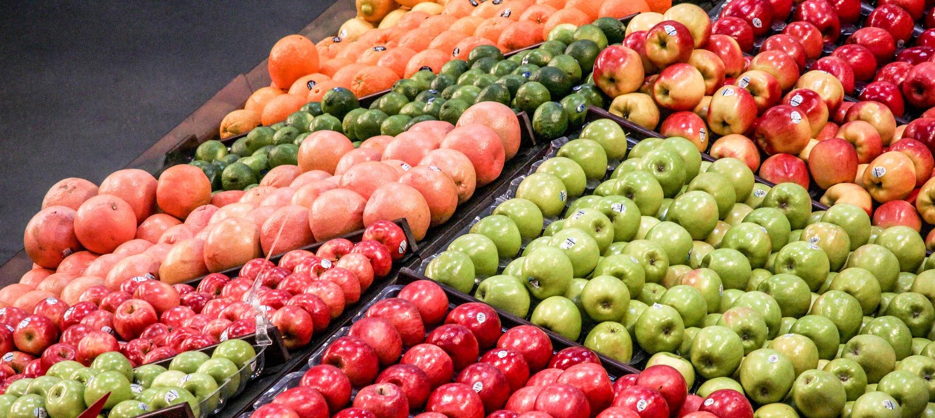 Weniger Plastik bei Obst im Supermarkt