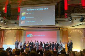 Auszeichnung Bestes Team 2019 - Supermarkt Stars