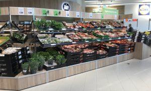 Gemüse & Obst in Lidls Metropolfiliale