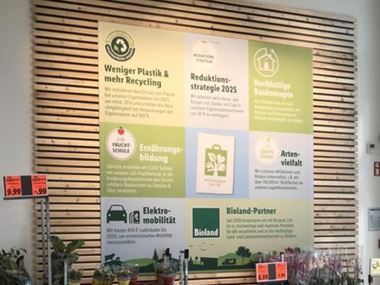 Nachhaltigkeit Umweltbewusstsein Lidl Metropolfiliale