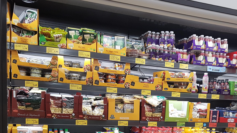 Sortimentsanalyse Fleischersatz-Produkte bei ALDI Süd: günstiger Preis, kleines Sortiment